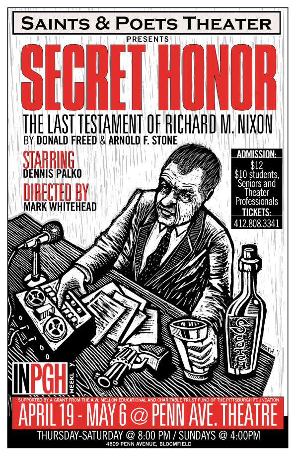 'Secret Honor: The Last Testament of Richard M. Nixon' by Donald Freed and Arnold M. Stone